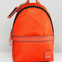 Calvin Klein Bright Nylon Backpack at asos.com