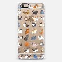 All Cats (clear) iPhone 6 case by Lili Chin | Casetify