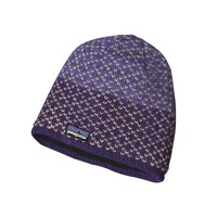Patagonia Women's Beatrice Beanie Hat | Beatrice Birds: Tempest Purple