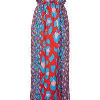 Pink Leopard Panel Maxi - New In This Week - New In - Topshop USA