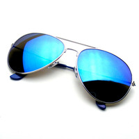 Reflective Classic Premium Revo Flash Full Mirrored Aviator Sunglasses