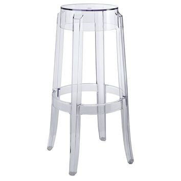 Casper Bar Stool Clear EEI-170-CLR