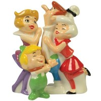 The Jetsons Family Magnetic Salt & Pepper Shakers
