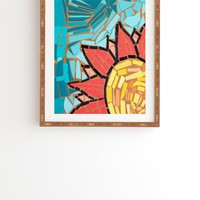 Fresh Artists Sunny Flower Framed Wall Art