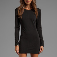 Backstage Long Sleeve Caroline Dress in Black from REVOLVEclothing.com