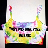 SWEET LORD O'MIGHTY! TIEDYE NOBASICZONE BRALET