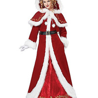 Adult Mrs Claus Costume - Theatrical - Spirithalloween.com