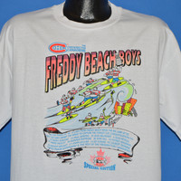 90s Fredericton Canadiens Freddy Beach 1993 t-shirt Extra Large