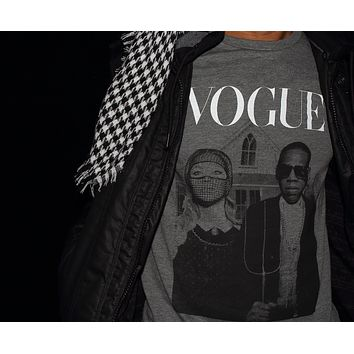 Vogue T-shirt ~ StreetWear Edition ~ Unisex Tee ~ Jay & Bee American Gothic ~