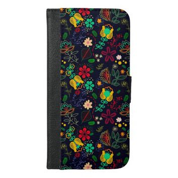 Stylish Modern Floral Pattern iPhone 6 Plus Case