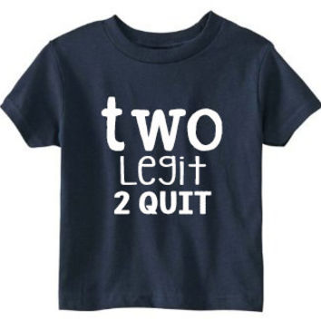 Toddler 2nd Birthday Shirt SOFT