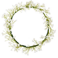 Snowdrop Flower Garland - Railroad  - Clothing
