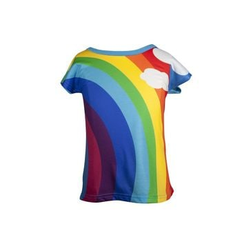 At the end of the Rainbow - Girls Classic rainbow T-shirt