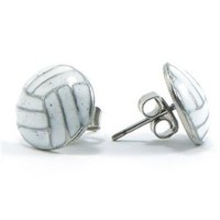 Amazon.com: GemGear® Volleyball Earrings: Sports & Outdoors