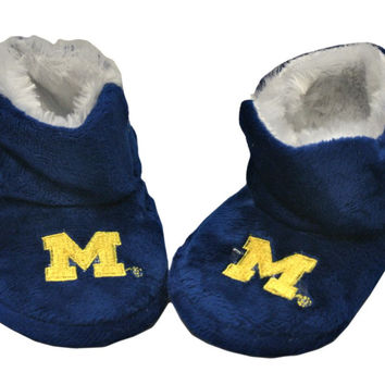 Michigan Wolverines Slippers - Baby High Boot