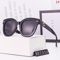 GUCCI Women Fashion New Polarized Metal Bee Sunscreen Glasses Eyeglasses