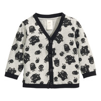 H&M - Cardigan - Grey/Patterned - Kids
