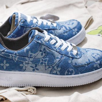 Supreme x Louis Vuitton Nike Air Force 1