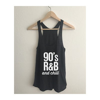 90s RnB and Chill Women's Racerback Tank Top
