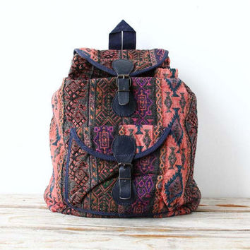 Colorful Southwestern Backpack