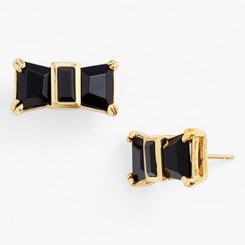 Women's kate spade new york 'jackpot jewels' bow stud earrings
