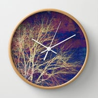 strange days Wall Clock by Sylvia Cook Photography