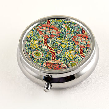 William Morris Wandle Floral Pill Box