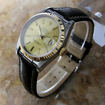 Collectible 1990's Rolex Oyster perpetual datejust Quickset X