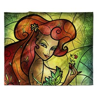 "Mandie Manzano ""Poisonous"" Villain Fleece Throw Blanket"