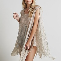 Free People Womens Sequin Tunic