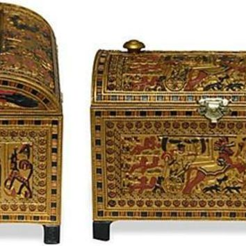 Tutankhamun Royal Treasure Box with Tut Hunting - 5527