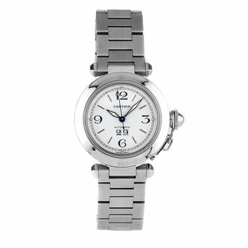 Cartier Pasha automatic-self-wind womens Watch W31044M7 (Certified Pre-owned)