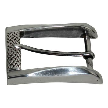 40 mm Hand Polished Zinc Alloy French Belt Buckle