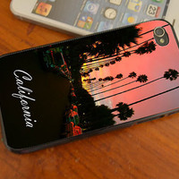 CALIFORNIA iphone 4 /4s/5/5C , samsung galaxy s3/s4 and ipod touch 4/5 cases