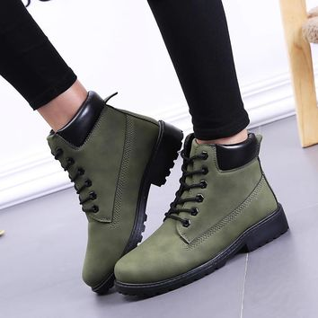 Fashion Online Hot Deal On Sale Casual Dr. Martens Winter Training Flat Shoes Plus Size Boots [9252879500]