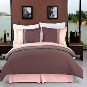 Astrid Embroidered 3-Piece Duvet cover Set
