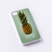 pineapple Psych iPhone 4/4S, 5/5S, 5C,6,6plus,and Samsung s3,s4,s5,s6