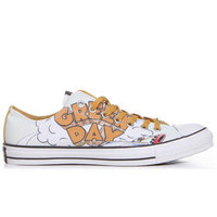 DJPremium.com - Men - Shop by Brand - Converse Premium - Shoes - Sneakers - Chuck Taylor All Star Green Day Dookie Classic Print Sneakers