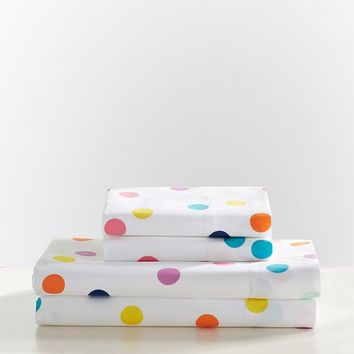 Confetti Dot Sheet Set
