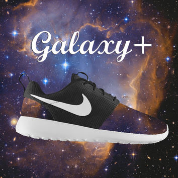 Custom Nike Roshe, Roshe Run, Galaxy Roshe Run, Black Roshe Run, Nebula Roshe Run, Black and White Roshe Run, Space Roshe Run