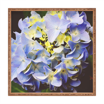 Allyson Johnson Hydrangea Flower Square Tray