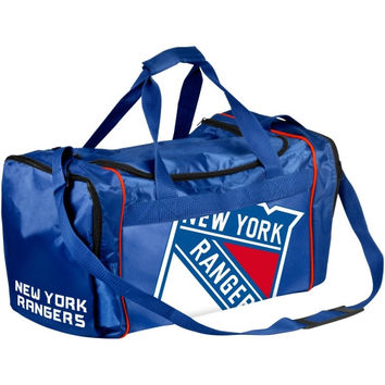 New York Rangers Core Big Logo Small Duffle Bag - Royal Blue- - http://www.shareasale.com/m-pr.cfm?merchantID=7124&userID=1042934&productID=555871603 / New York Rangers