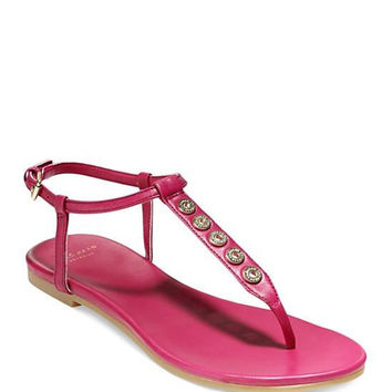 COLE HAAN Flat Thong Sandals - Effie Grommet