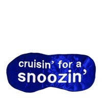 Anatomicals Cruisin' For A Snoozin' Silk Sleep Mask
