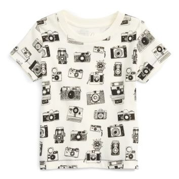 Peek Camera Graphic Cotton T-Shirt (Baby Boys) | Nordstrom