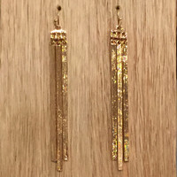 Melissa Gold Bar Earrings