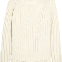 Agnona - Ribbed cashmere turtleneck sweater