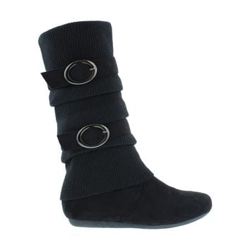 2Buckle Sweater Boot