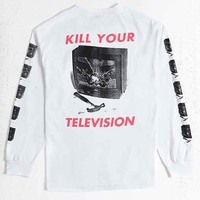 OBEY Kill Your TV Long-Sleeve Tee
