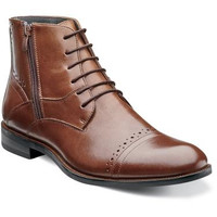 Godfrey Cap Toe Boot by Stacy Adams
